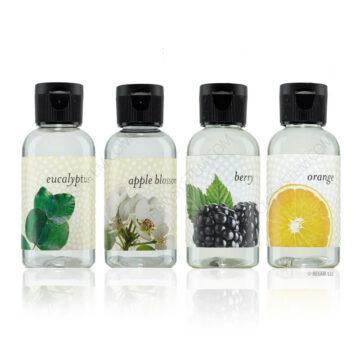 Fragrance Pack (Eucalyptus, Apple Blossom, Berry and Orange)